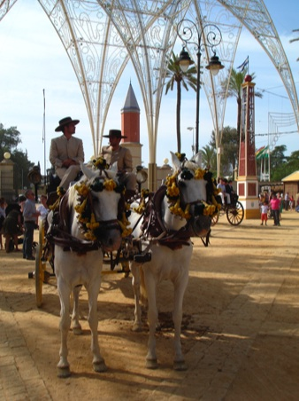 Caballos at the Feria