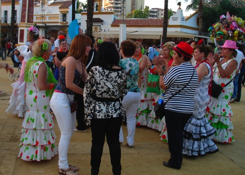 Spontaneous Sevillanas at the Feria