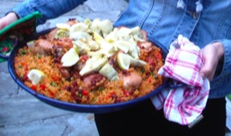 Paella from the June Juerga