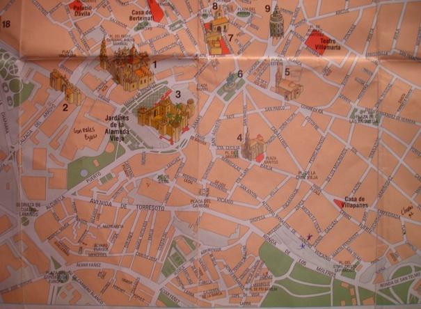 Barrio San Miguel map