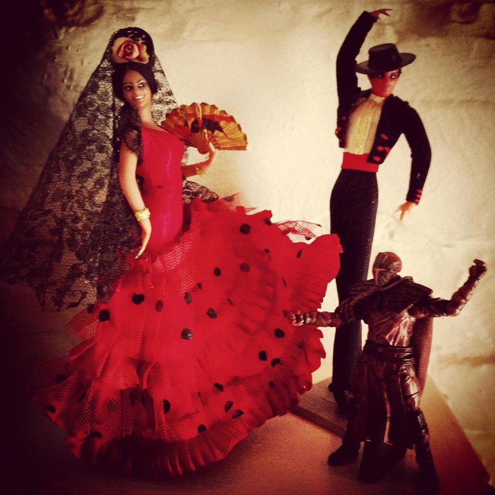 flamenco dolls and hector raul.jpg