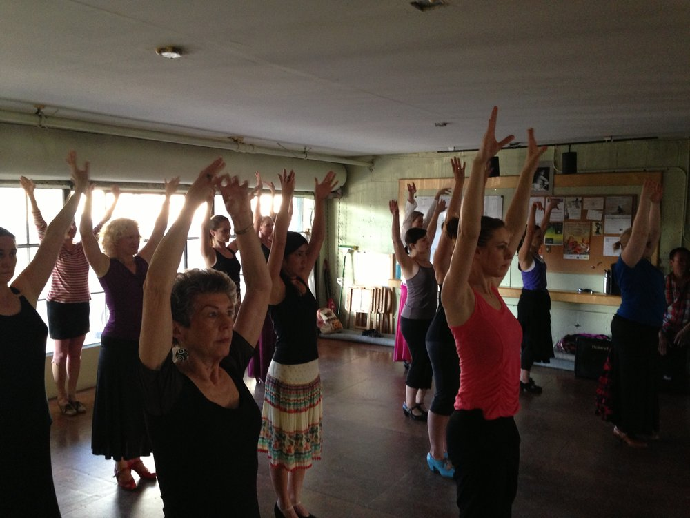 dance class in Portland