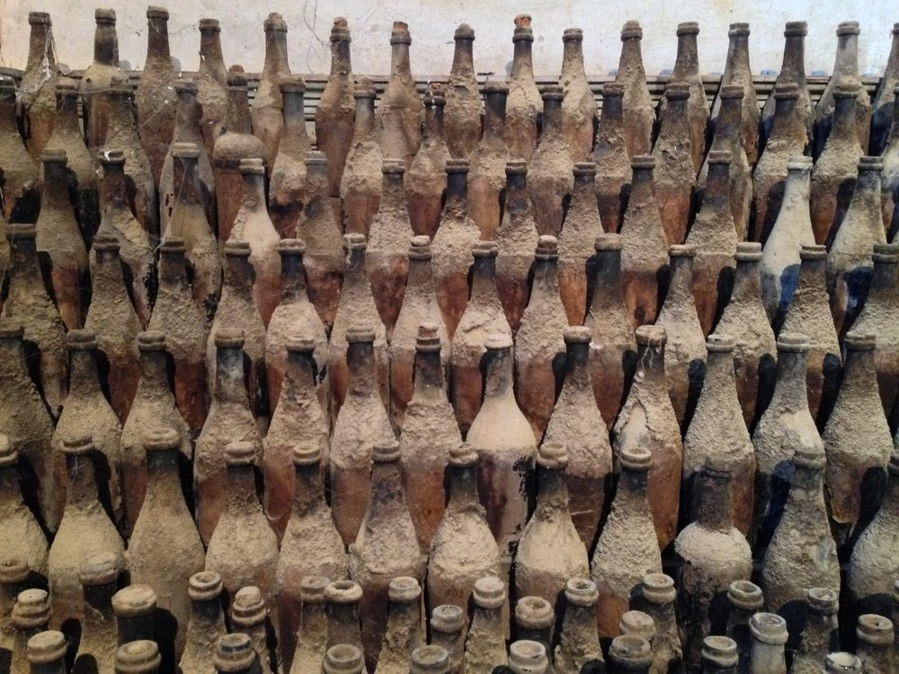 old old sherry bottles at gonzales byass.jpg