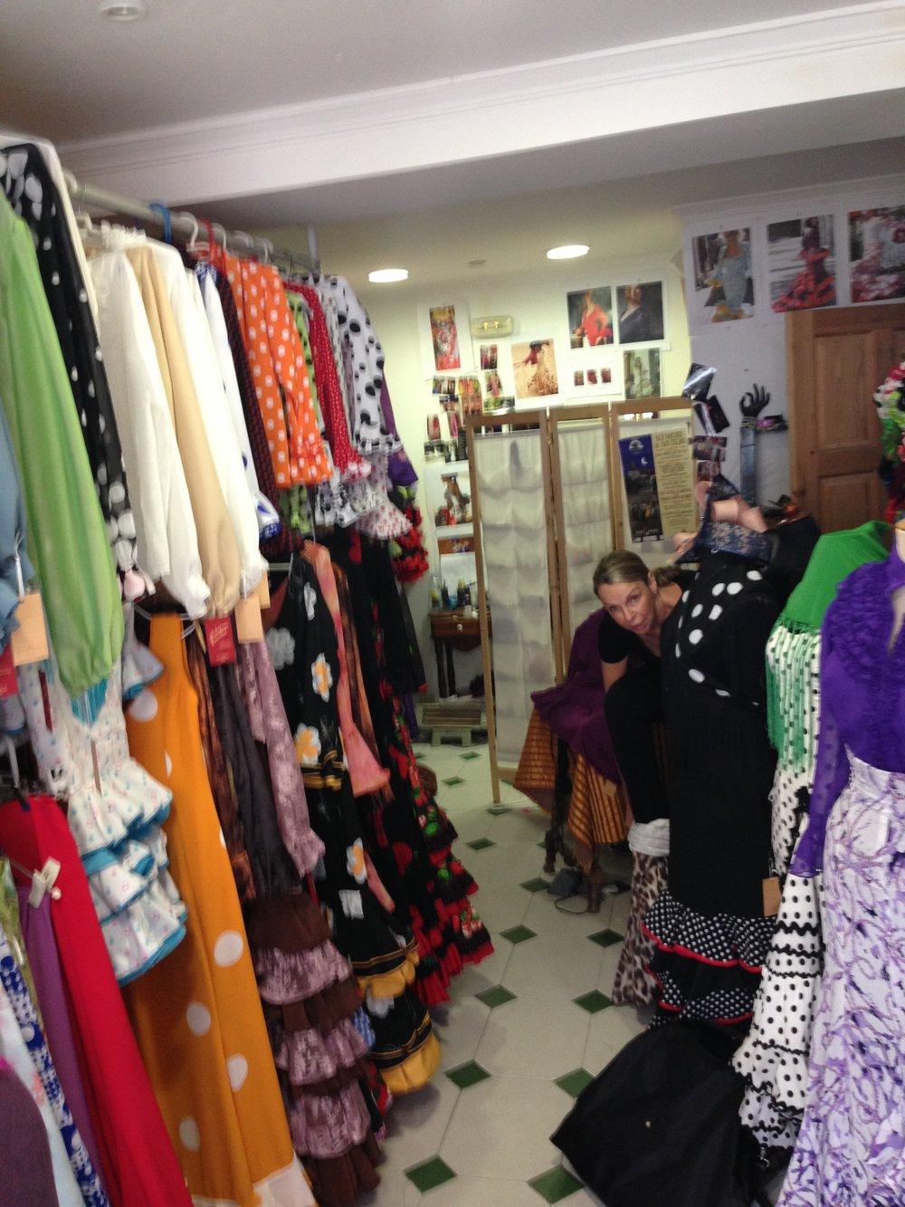 Milagros's shop, Stefani.JPG