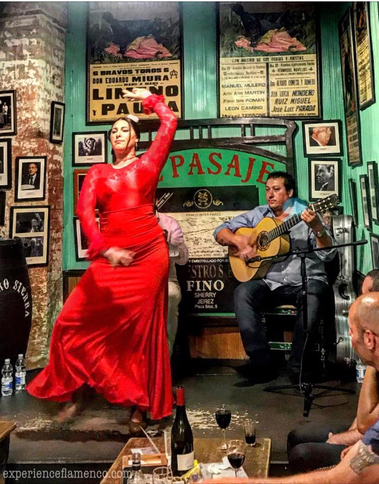 Maria Moreno at Tabanco El Pasaje