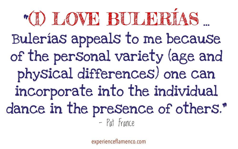 Learn to dance bulerías