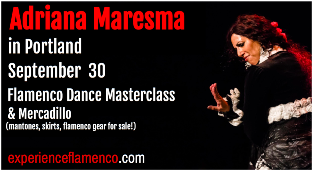 Flamenco dancer Adriana Maresma Fois