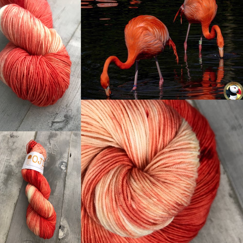 naked flamingo