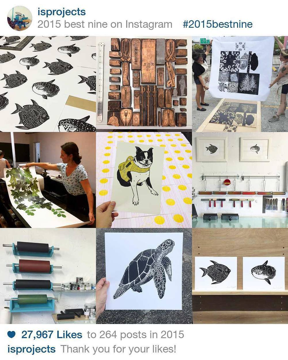 Thanks so much everyone! #2015bestnine  (at Is Projects)