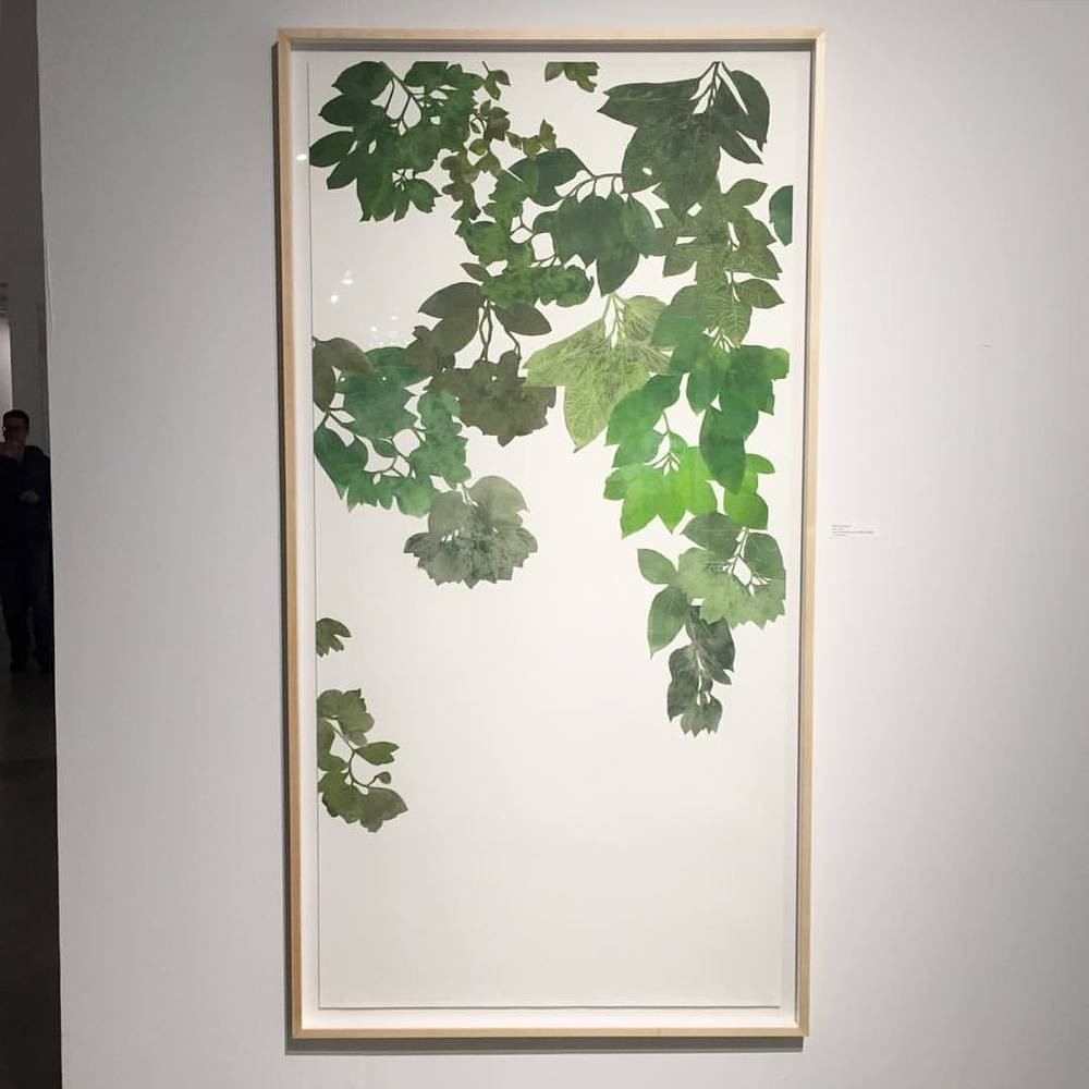 Flora by Marcella Marcuzzi Funny to think we had this on the press only a few days ago. On view now at Pinta Art Fair at the Teresa Anchorena Gallery booth B9 (at Pinta miami)