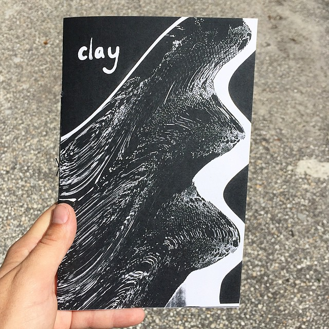 "Hot off the Xerox! New Zine: ""Clay"" 8 pages only $5 Pick on up tonight at the Funk Buddha Craft fair at Funky Buddha Ft Lauderdale from 530-930pm. (at Is Projects)"