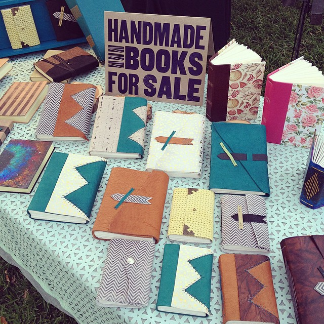 Come on out to the Night Owl Market at Feldman Park tonight from 5-11 and pick up a book. I have all shapes and sizes. I hear there's free beer around here too! (at Night Owl Market!!)
