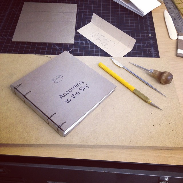 Wishing Sharon Hart good luck on her application! We made this mock up book in the studio last week. You got this Sharon!