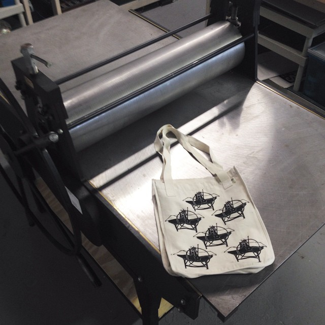 Last night I used the Praga and the Praga cut to make a An exclusive ISP Praga bag. Get it?