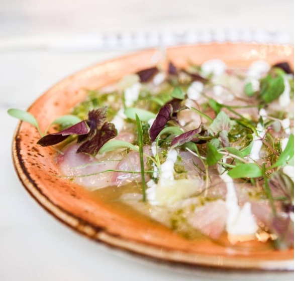 Kingfish ceviche @chinchin