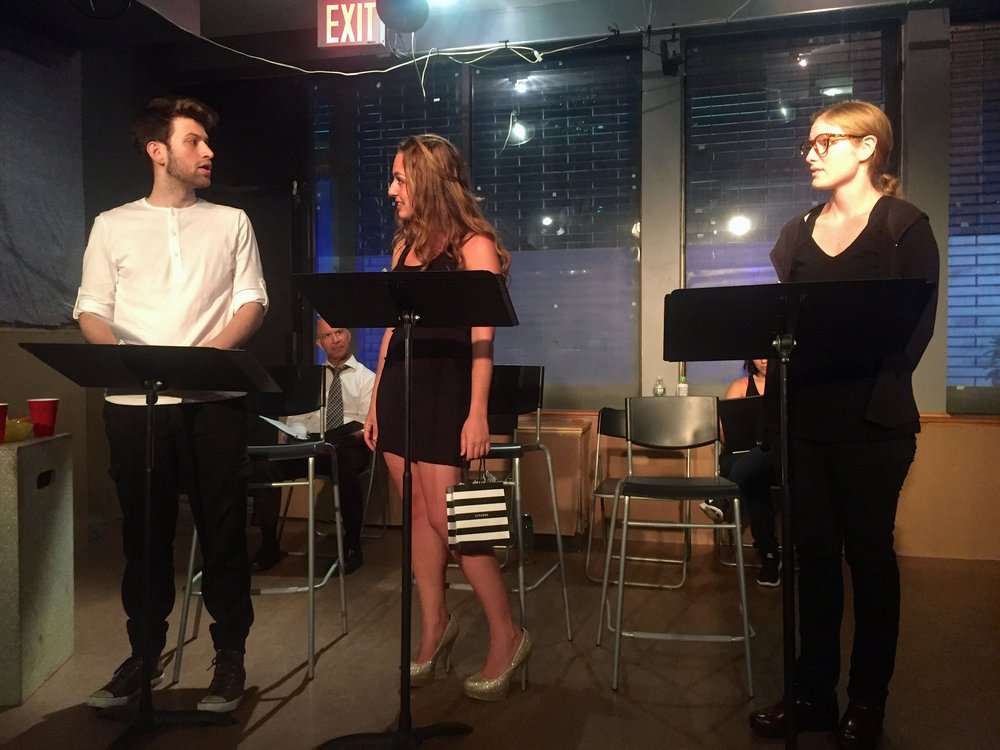 Adrian Burke,Reanna Armellino, and Ella Dershowitz in  American Dreamers