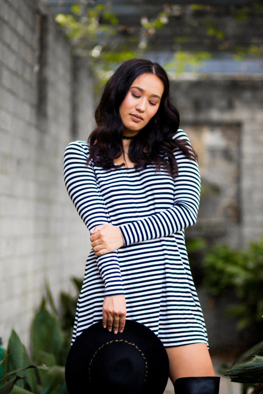 orlando-fashion-blogger-stripes-dress