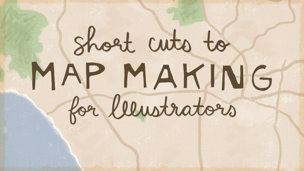 Map Making for Illustrators