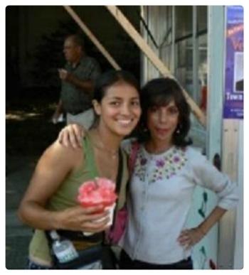 Laura Cerrano with Carole Provenzale