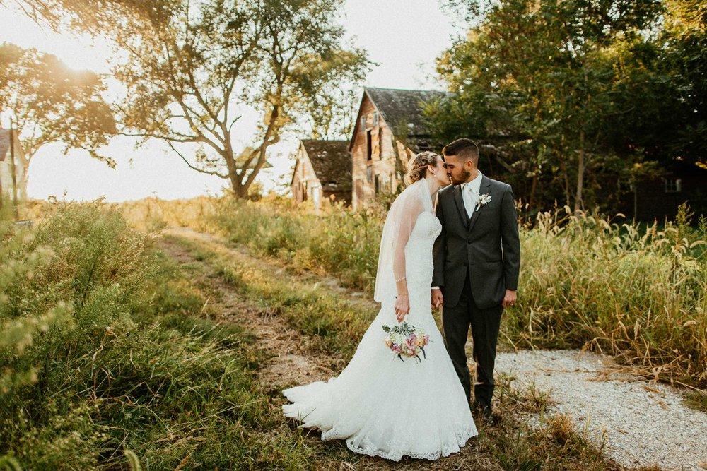 Matt + Michelle  Rustic Styled Wedding Shoot in Omaha, Nebraska   VIEW