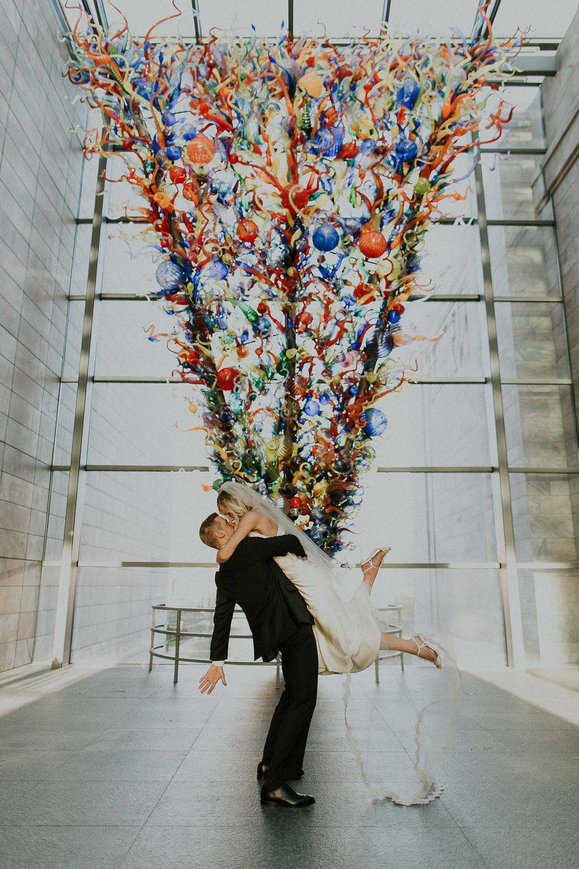 Andrew + Michelle  Joslyn Museum Wedding in Omaha, Nebraska View