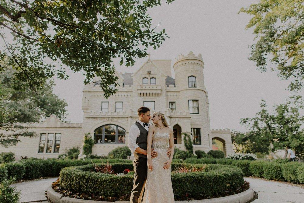 Aaron + Johanna   Joslyn Castle  Vintage   Wedding iN     Omaha     Nebraska   VIEW