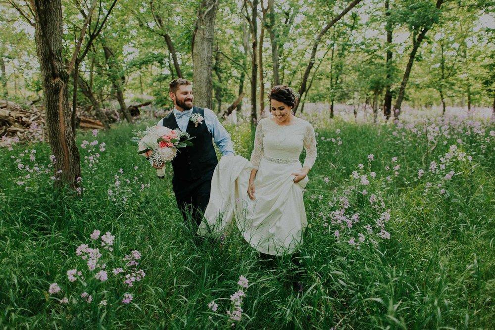 Spencer + Gabbi  Boho Chic Rustic Wedding in Nebraska   View