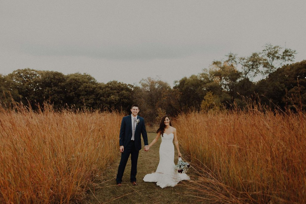 Ethan + Megan  Fall Wedding in West Point, Nebraska   View