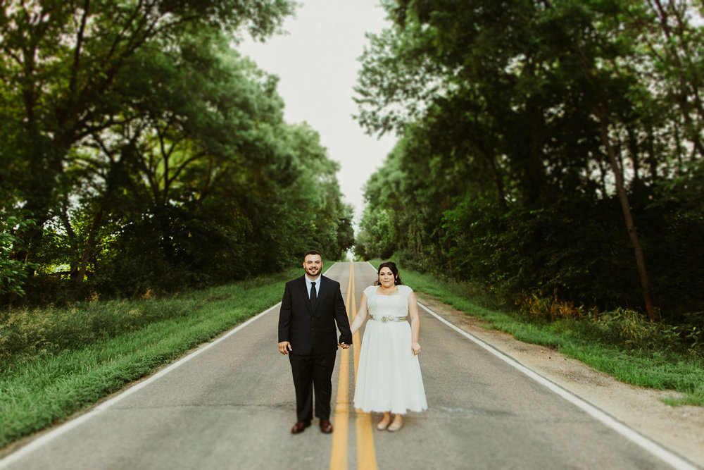 Michael + Jackie  Intimate Backyard Wedding in Omaha, Nebraska   VIEW