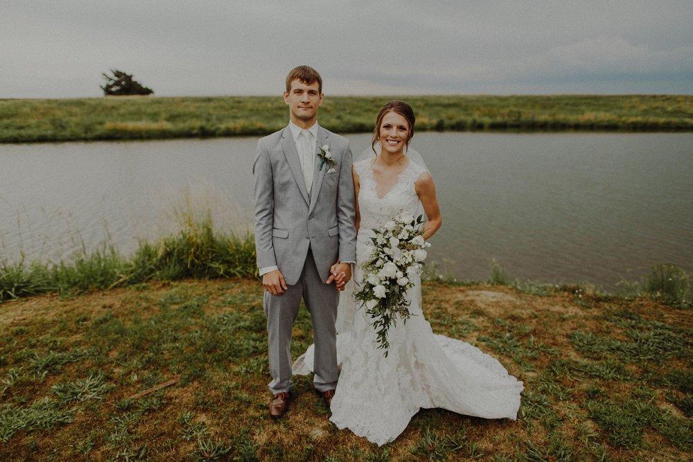 Travis + Kristine  Rustic Wedding in Columbus, Nebraska   View