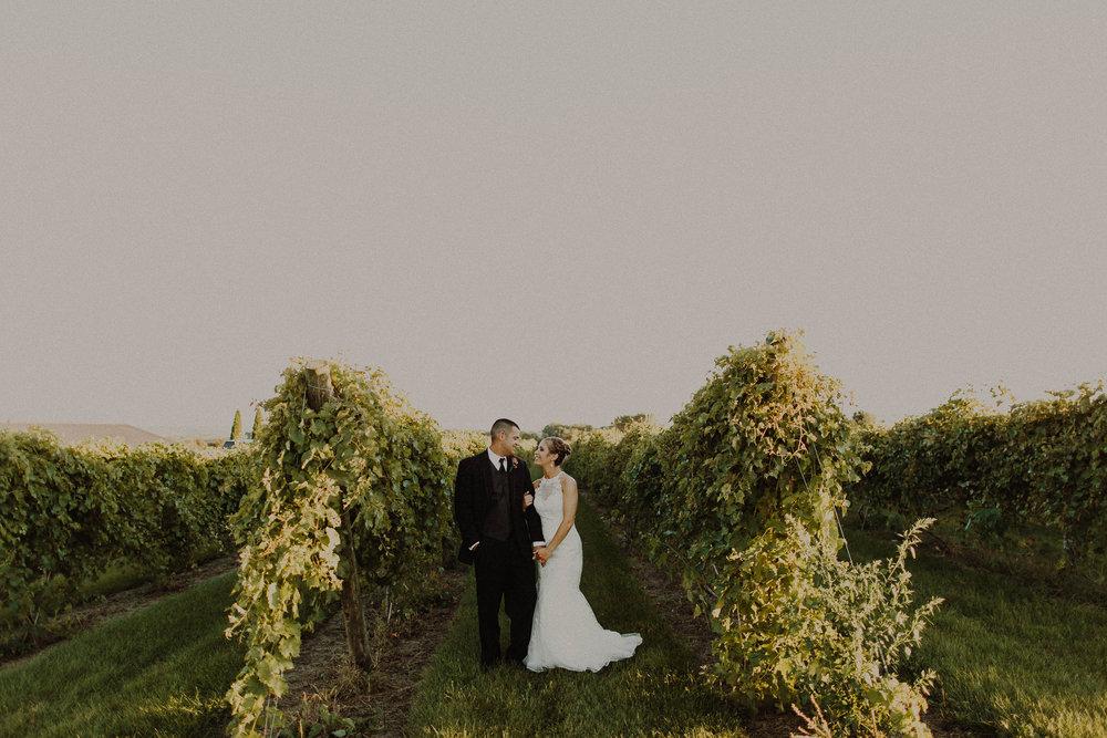 Tyler + Tori  Fall Vineyard Wedding in Glenwood, Iowa   VIEW