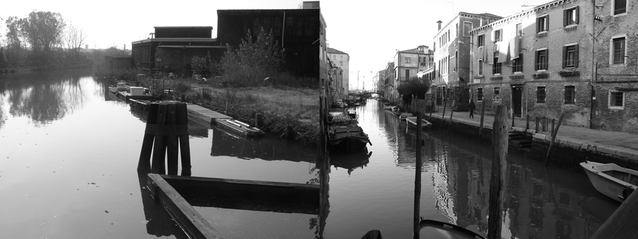 The Grand Gowanus, no.2 ,  series,  2008, giclée prints, 4-1/8 x 11 inches, stereo prints presented in custom paper portfolio