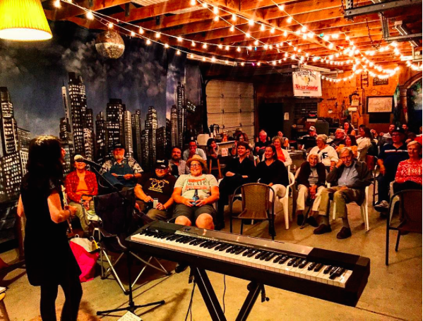 house concert in fillmore, CA - West coast tour 2015