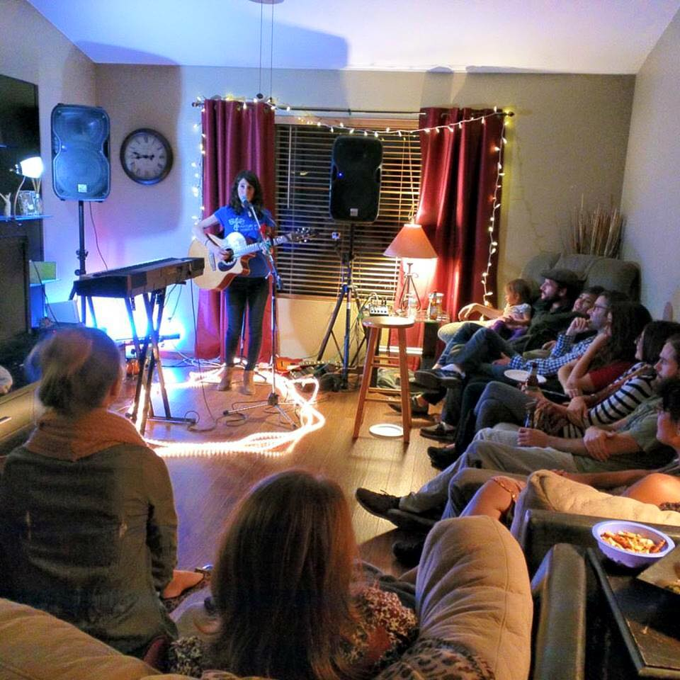 house concert in mesa, az - fall tour 2015