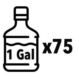 Over a 75-Gallon Storage Capacity