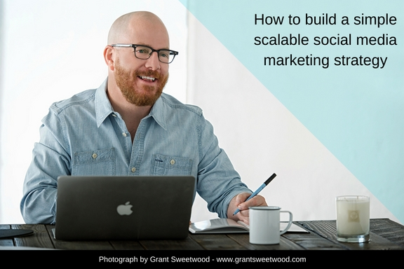 How to build a simple scalable social media marketing strategy