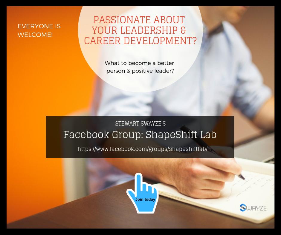 ShapeShift Lab Facebook Group