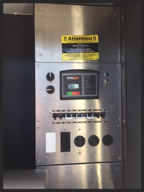 Interior Electrical Panel Control System