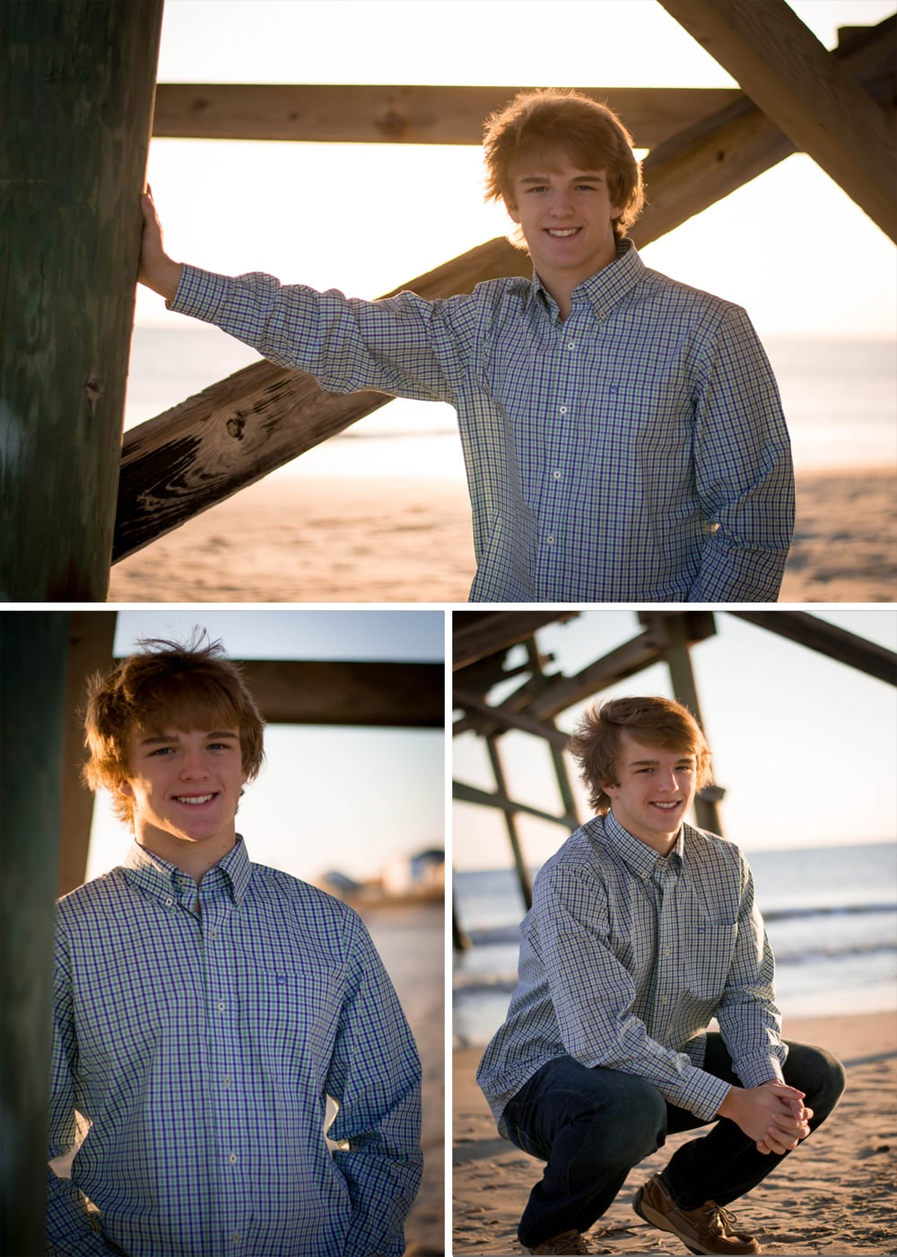 senior session beach