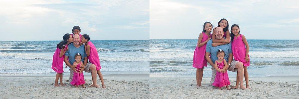 beach portraits holden nc