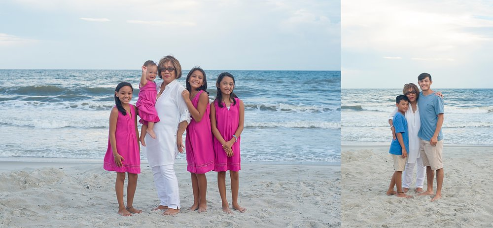 extended family photography wilmington nc