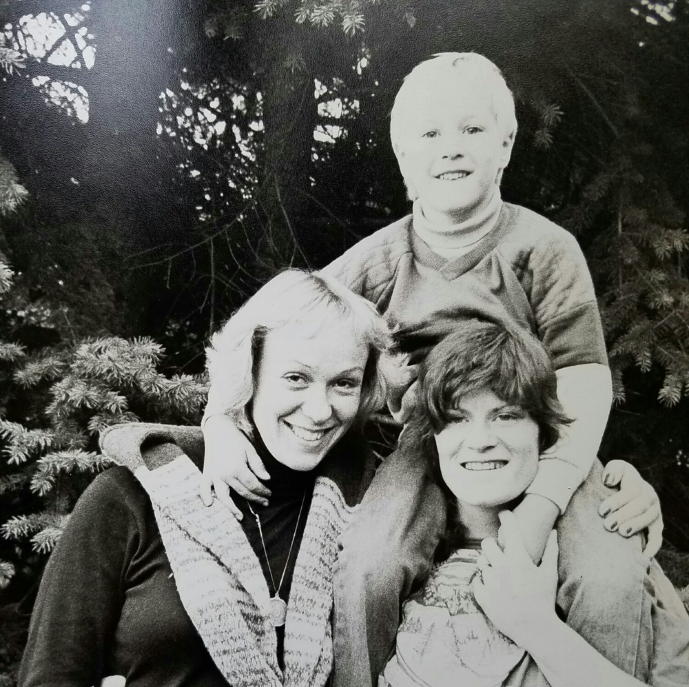 Mom, me and Diane.