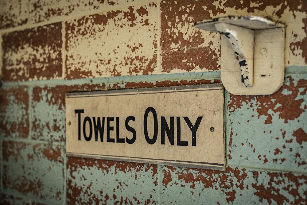 You're a towel!