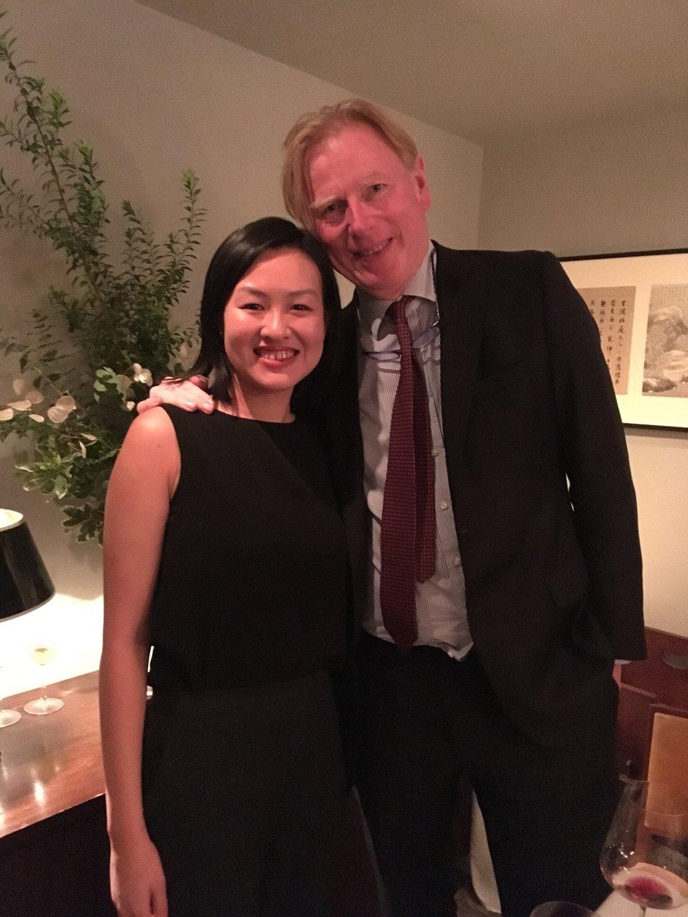 With Jasper Morris MW in Hong Kong, Oct 2018.
