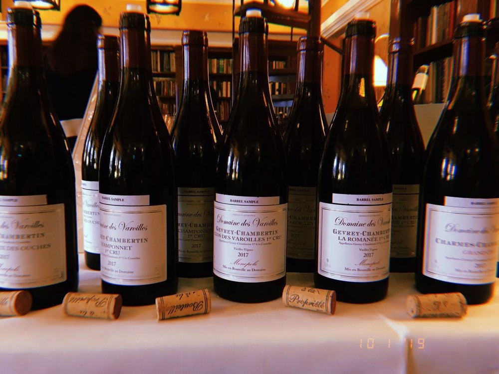 Burgundy 2017 - A en primeur tasting summary on reds and whites.