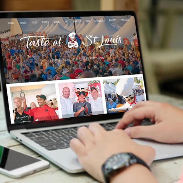 TASTE OF ST. LOUIS WEBSITE