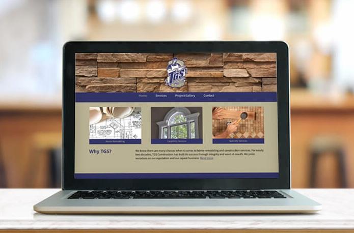 TGS CONSTRUCTION WEBSITE