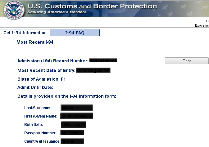 i 94 form expiration date  Watch your I-9 record — David Immigration Law