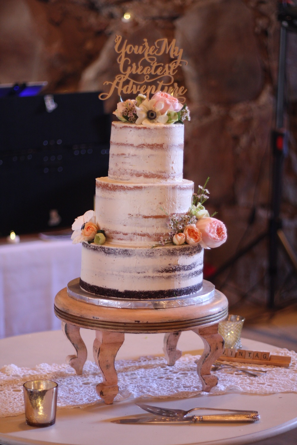Tiered Naked Cake