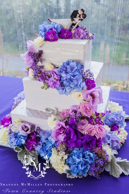 Purple Ombre Buttercream